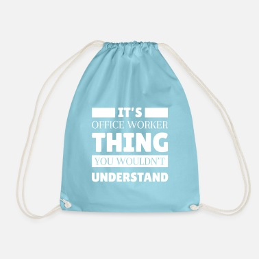 Office Office worker Office clerk Office clerk - Drawstring Bag