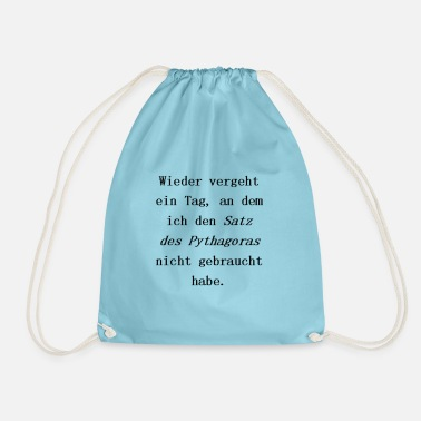 Pythagorean Pythagorean theorem - Drawstring Bag