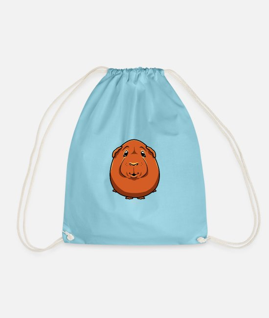 Quote Bags & Backpacks - Marse VII - Drawstring Bag aqua