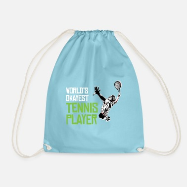Tennis player - Drawstring Bag