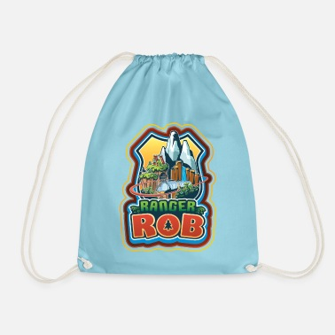 Ranger Rob Big Sky Park Logo - Drawstring Bag