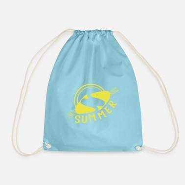 Sundown at sea - Drawstring Bag