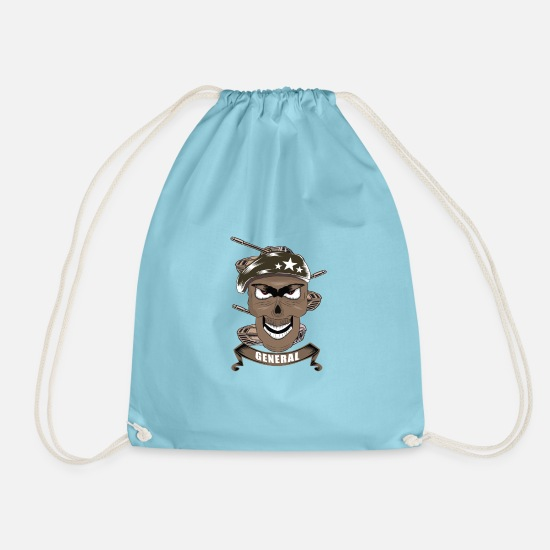 Prime Bags & Backpacks - General soldier soldiers - Drawstring Bag aqua