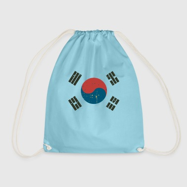 Korean flag - Drawstring Bag