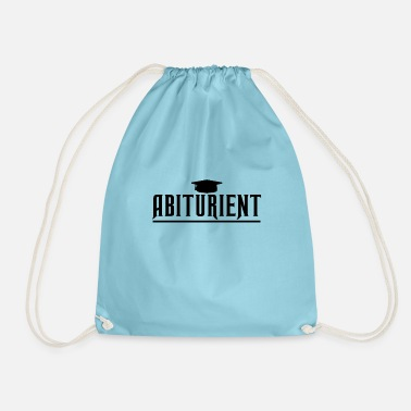 High School Graduate High school graduation Abi high school graduation - Drawstring Bag