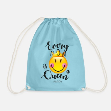 SmileyWorld Every Mom Is A Queen - Gymtas
