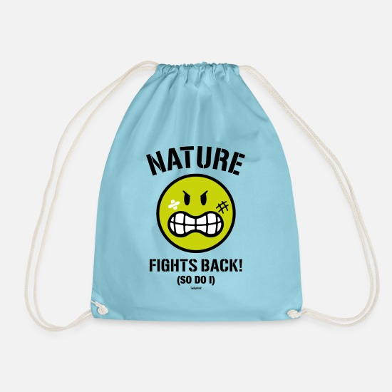 Officialbrands Laukut ja reput - SmileyWorld Nature Fights Back! - Jumppakassi vesi
