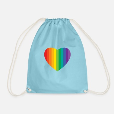 Paredes heart - Drawstring Bag