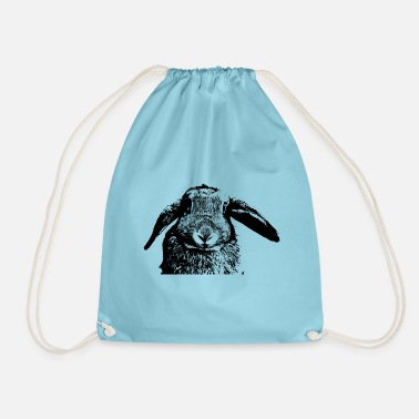 Orecchio Coniglio con orecchie orecchie orecchio floppy - Sacca sportiva 88a8f76b401c
