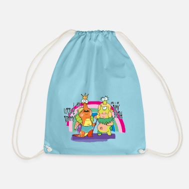 Rick and Morty Little Tommy and Tiny Beth - Drawstring Bag