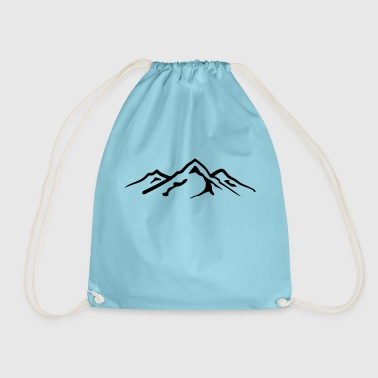 Mountain, Mountains - Drawstring Bag