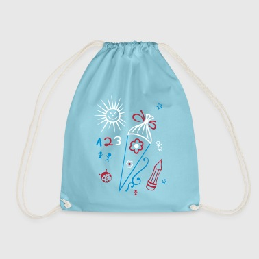 School, school start, children, back to school - Drawstring Bag