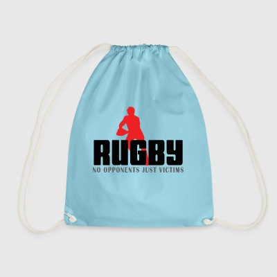 Rugby No Opponents Just Victims - Drawstring Bag