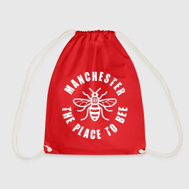Manchester - The Place to BEE - Drawstring Bag