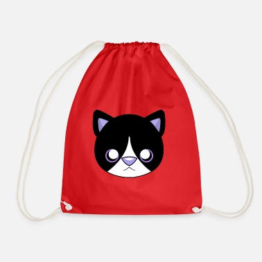 chat - Sac à dos cordon