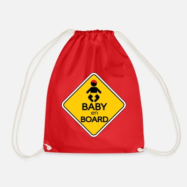 Baby On Board Baby en Board - Drawstring Bag