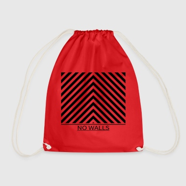 NO WALLS - No walls - Drawstring Bag