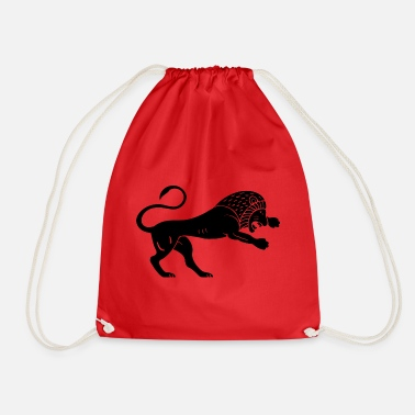 Antique Lion antique - Sac de sport léger