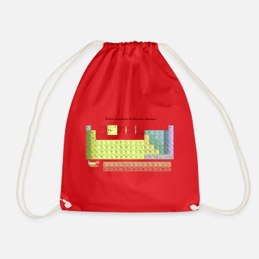 Periodic Table Periodic Table of Chemical Elements - Drawstring Bag