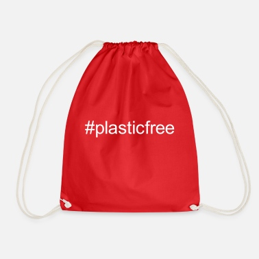 plastic free - Drawstring Bag