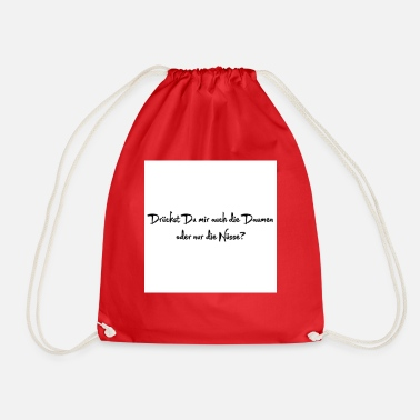 Irony irony - Drawstring Bag