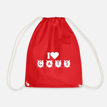 Easter Cats, Gift Idea, Mom,Women, Cute - Drawstring Bag