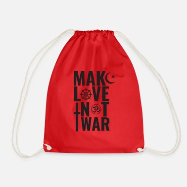 Make Love Not War Make Love Not War - Sacca sportiva