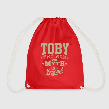 Toby! T-shirts and Hoodies for you - Drawstring Bag