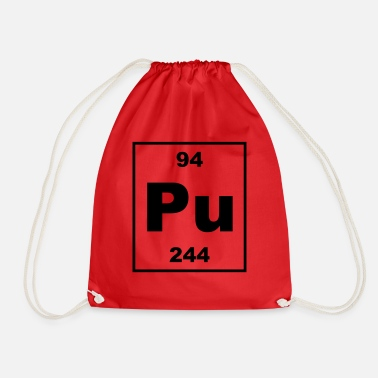 Plutonium Plutonium (Pu) (element 94) - Drawstring Bag