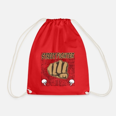 Street Fighter street fighters - Drawstring Bag