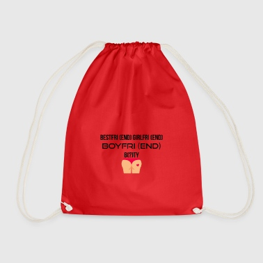 FOLLOWING GirlfriEND BoyfriEND - Drawstring Bag