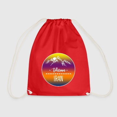 Tehran Iran - Drawstring Bag