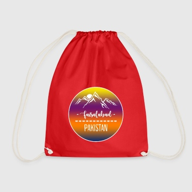 Faisalabad Pakistan - Drawstring Bag