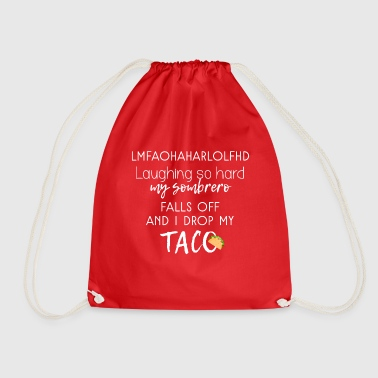 LOL HAHA - Drawstring Bag