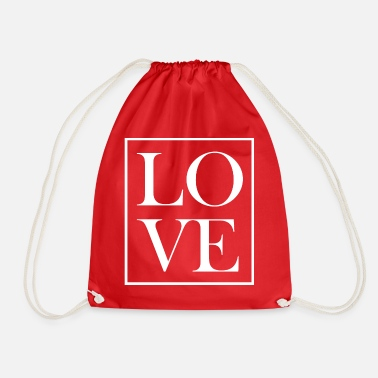 LOVE - Drawstring Bag