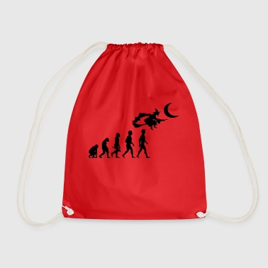 witch witch witch broom witch magic spells2 - Drawstring Bag