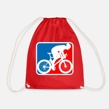 Road Bike road bike logo - Drawstring Bag
