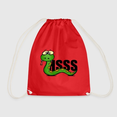 Crawl Snake Snake - Drawstring Bag