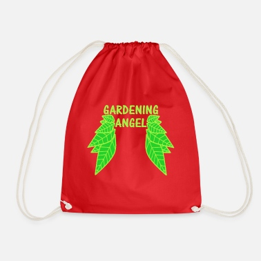 Gardening angel - Drawstring Bag