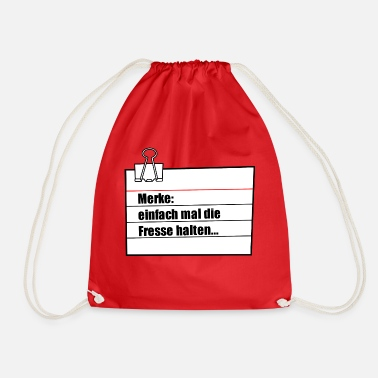 Note Clue note - Drawstring Bag