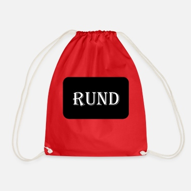 Round Birthday round - Drawstring Bag
