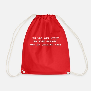 Bad It was not that bad - Drawstring Bag