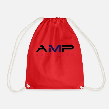 The &amp AMP logo - Drawstring Bag