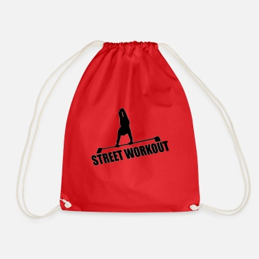Workout LOGO STREET WORKOUT - Drawstring Bag