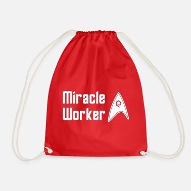Star Star Trek Discovery Scotty Miracle Worker - Sac à dos cordon