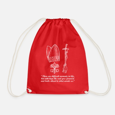 Christianity Funny Naughty Birthday Gift Man & Woman - Drawstring Bag