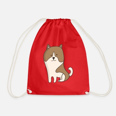 Puppy Puppy - Drawstring Bag
