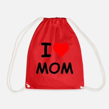 I Heart I heart MOM - Gymtas