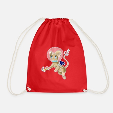 Space Mouse - Drawstring Bag