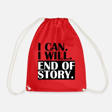 End END OF STORY. - Drawstring Bag